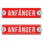 Preview: ANFÄNGER - 200x50mm