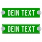 Preview: Dein Text - 200x50mm, Grün